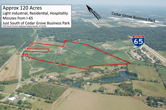 120 Acres On Highway 61 - Property Outline